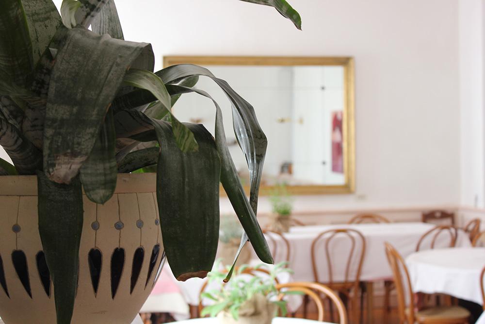 La sala interna - Osteria Irma Varese