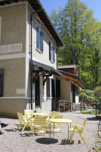 Il giardino esterno - Osteria Irma - Varese