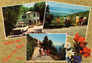 Cartolina Osteria Irma - Varese - Campo dei Fiori