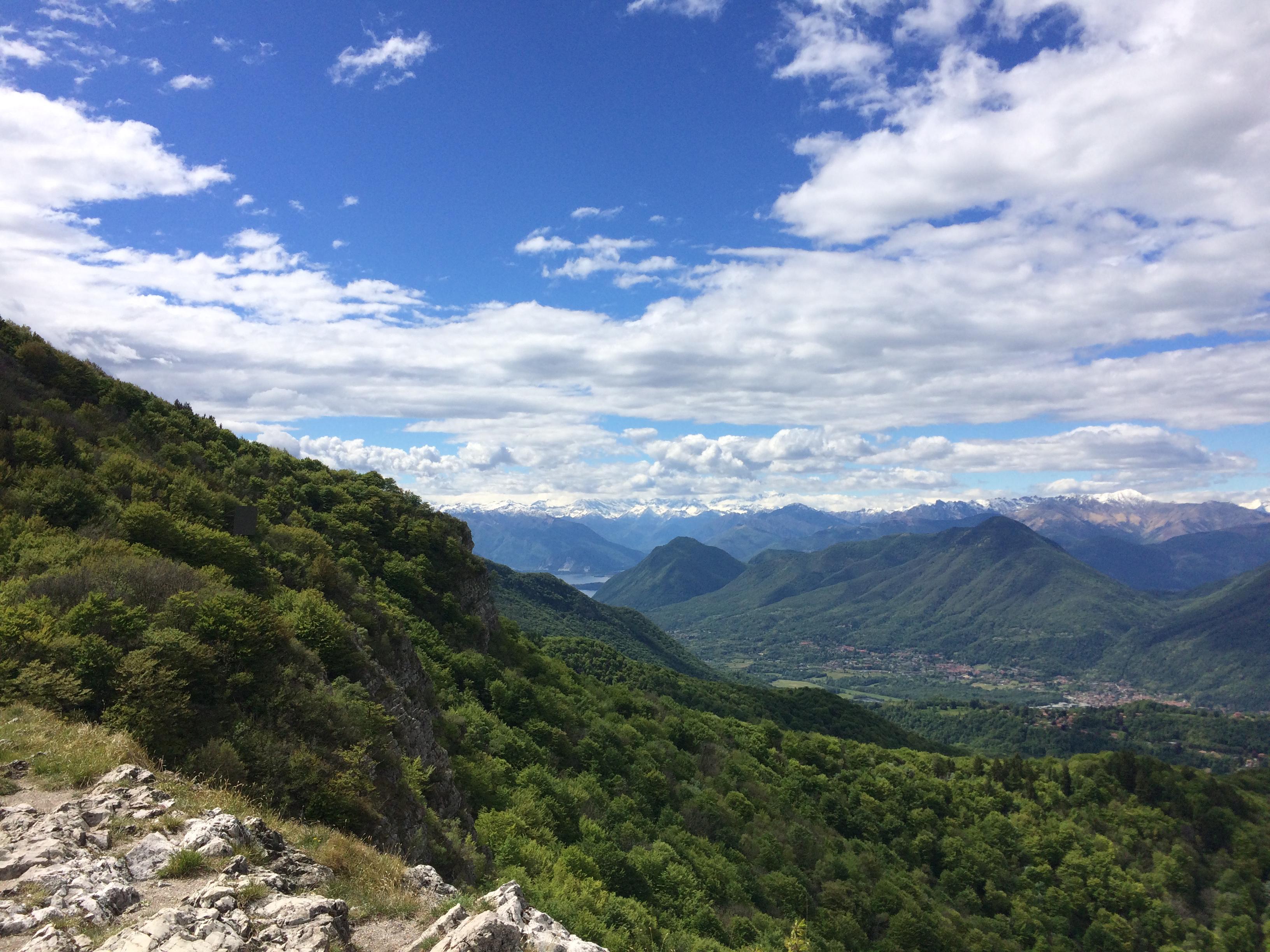 Panorama dal Campo dei Fiori - Osteria Irma - Varese